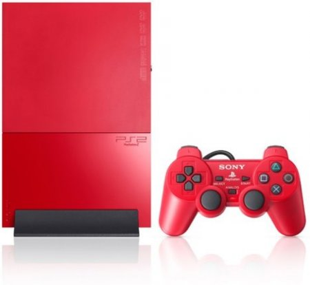 Sony PlayStation 2 90006 Red